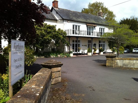 Farthings Country House Hotel and Restaurant: Fartings hotel.
