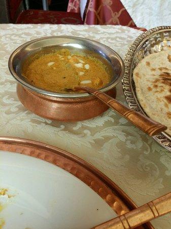 Haveli Indian Restaurant : Formaggio al curry