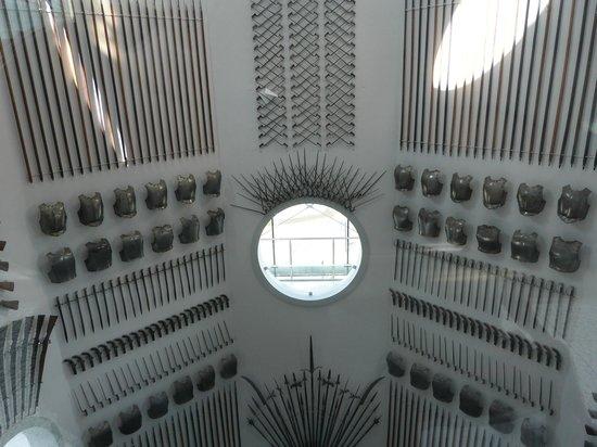 Royal Armouries Museum : Interior de la torre-faro