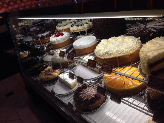 The Cheesecake Factory - Jeddah: Some of cakes