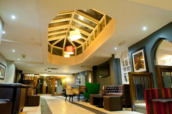 The Swan Hotel: The lovingly restored former coaching inn now acts as a vibrant bar