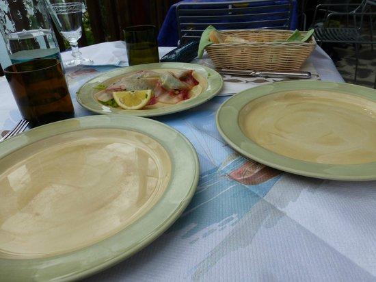 La Posada: Smoked tuna--yum