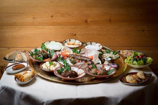 Christiania Hotel : Middle Eastern mezze platter