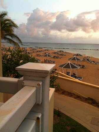 St. Kitts Marriott Resort & The Royal Beach Casino: View from balcony