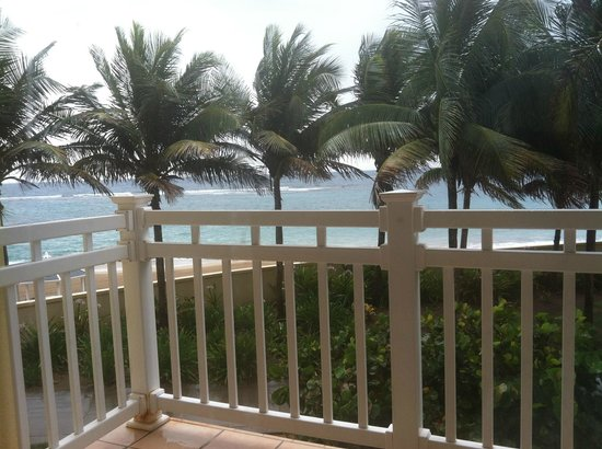 St. Kitts Marriott Resort & The Royal Beach Casino: Partial view from balcony