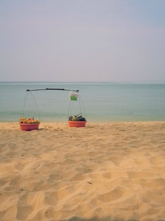 Phu Quoc Kim Bungalows On The Beach: Личный выход в море