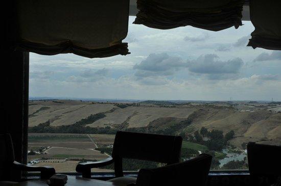 Parador Arcos de la Frontera: Vista desde el restaurante
