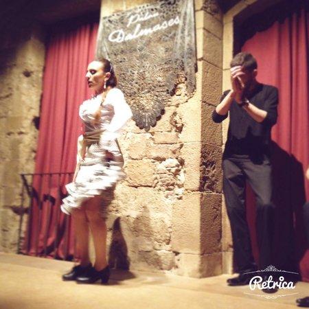 Palau Dalmases: la danseuse