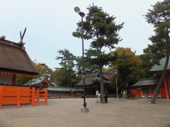 Sumiyoshi Taisha Shrine : Sumiyoshi-zukuri architecture