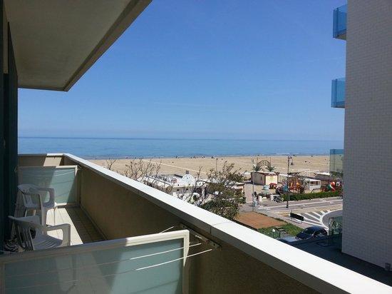 Hotel Astor: Panorama dalla stanza 204