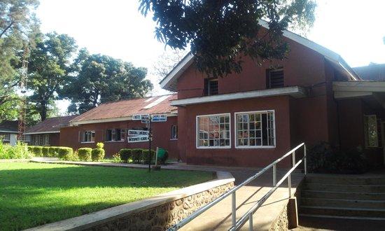 Lutheran Uhuru Hotel Moshi: Reception and restaurant