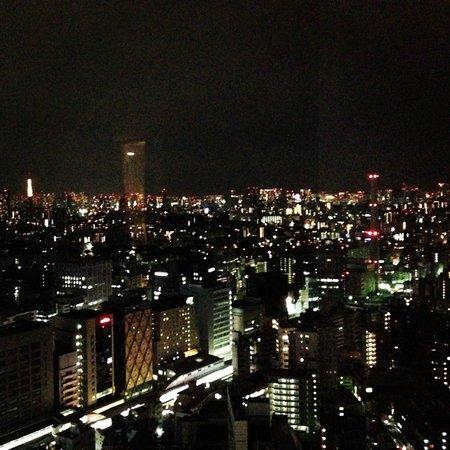 Cerulean Tower Tokyu Hotel: night view
