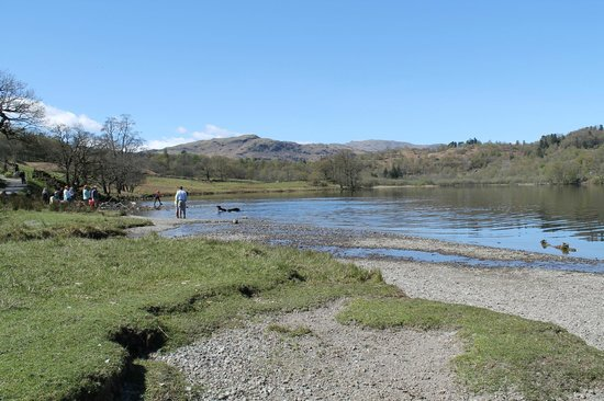 Rydal Water: scenic views
