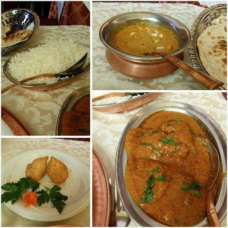 Haveli Indian Restaurant : My lunch set! That's BIG