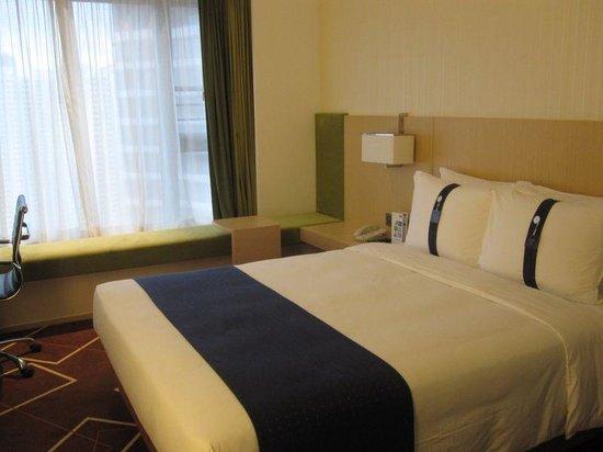 Holiday Inn Express HONG KONG KOWLOON EAST : 狭すぎないですが、広くもありません