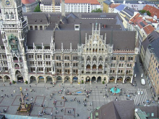 Marienplatz: Das Neue Rathaus