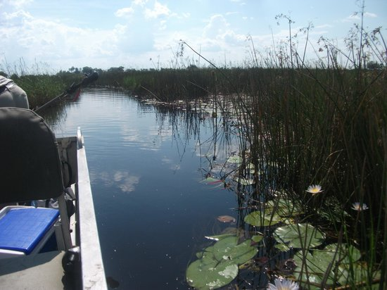 Tubu Tree Camp : my first canal ride