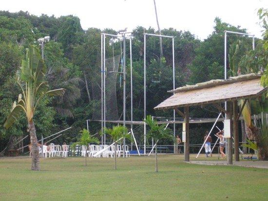 Club Med Trancoso : Escuela de trapecio