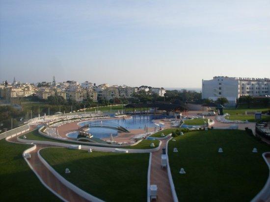 Hotel Paraiso de Albufeira: Blick vom Balkon unseres Appartments