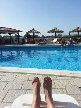 San Lorenzo Village: The pool area