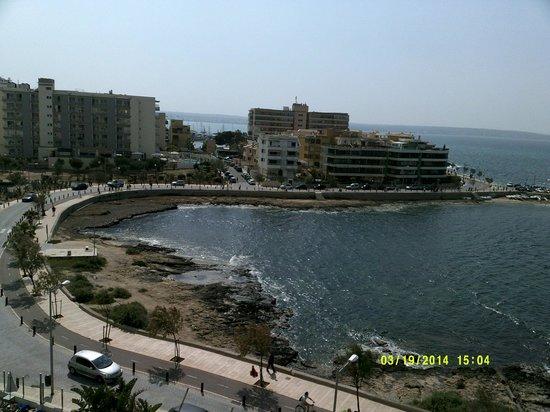 AluaSoul Palma: View from Hotel Marina Luz Junior Suite