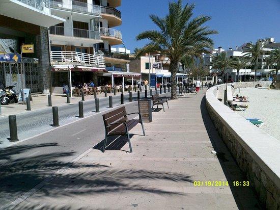 AluaSoul Palma: Can Pastilla Beach front