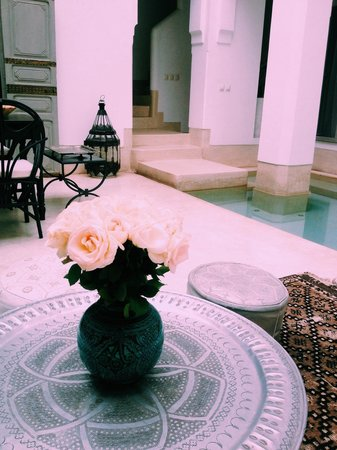 Riad Snan13: Beautiful courtyard