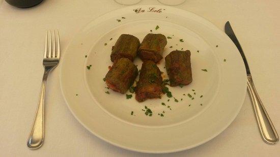 Da Lele: Zucchine ripiene di pesce