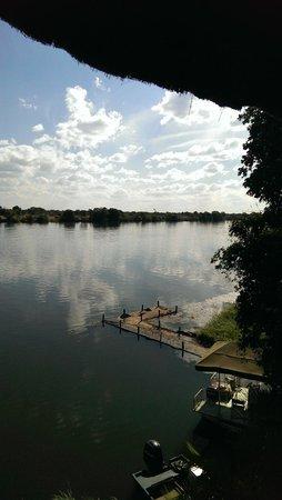 Mukambi Safari Lodge: River view 2
