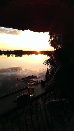 Mukambi Safari Lodge: Sundowner