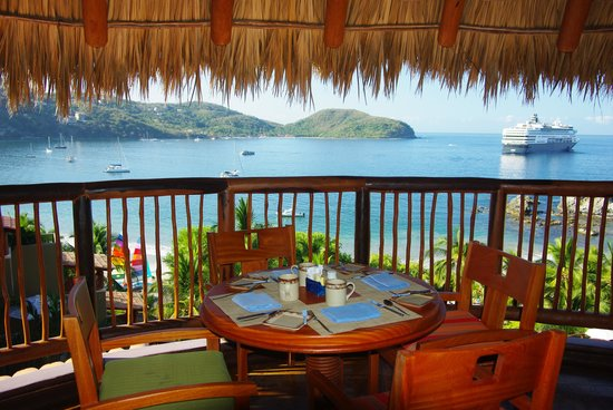 Embarc Zihuatanejo: view from our breakfast table