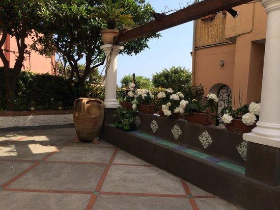 Ristorante Max: Belle terrasse