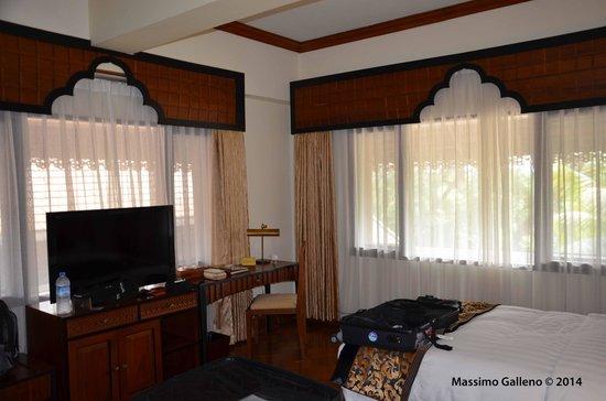The Kandawgyi Palace Hotel : ottima camera