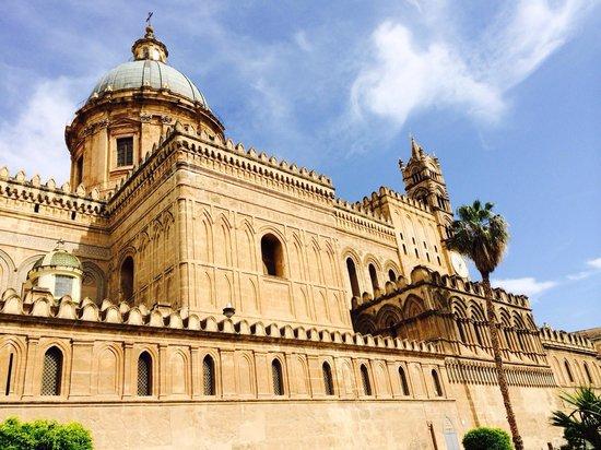 Cattedrale di Palermo: Magnificent Norman Arab building.