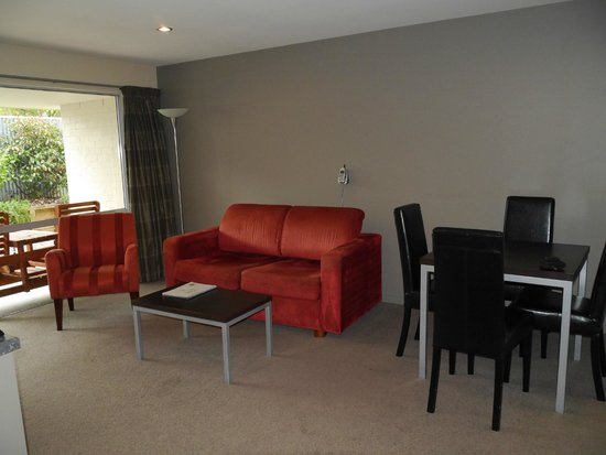 388 on Tay: Lounge in Executive 1 bed unit