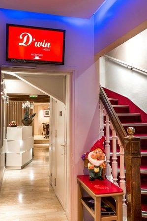 D'win Hotel : Entrée