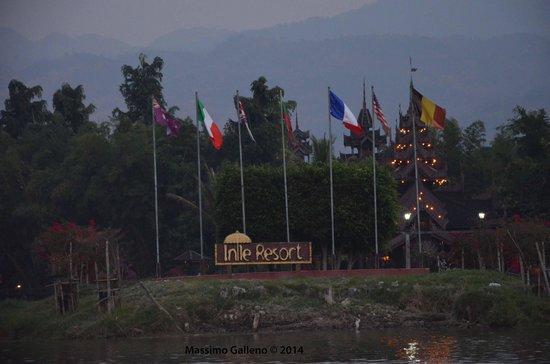 Inle Resort & Spa : arrivando