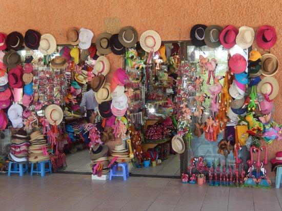 Flamingo Tours: tienda de souvenirs