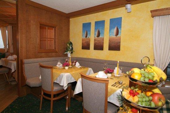 Hotel Bergfried: Der Speisesaal