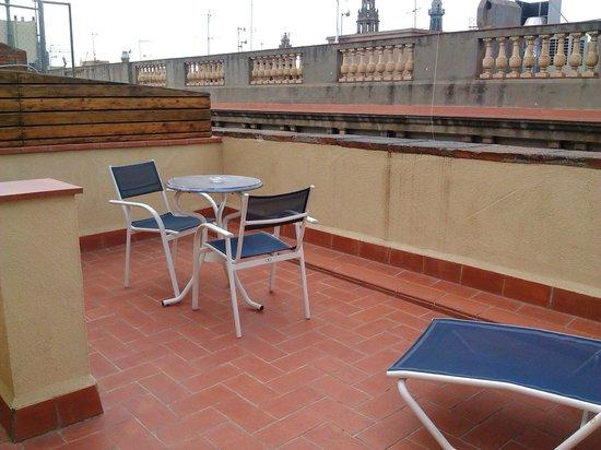 Hotel del Mar: terraza