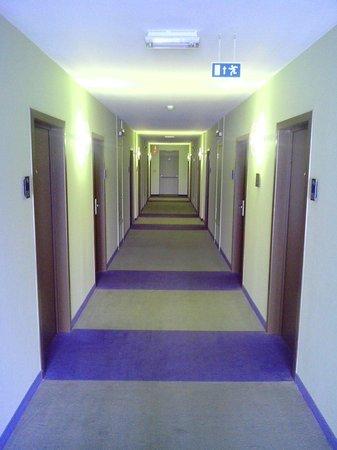 Velotel Brugge: Couloir