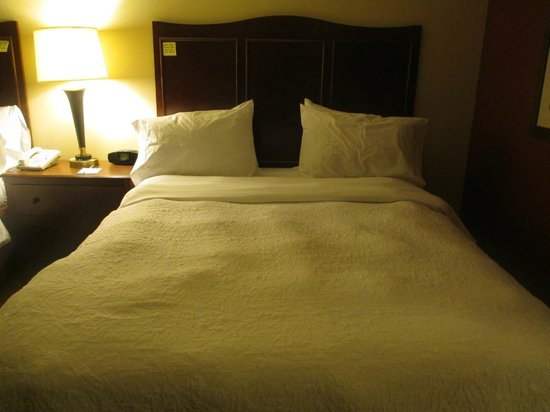 Hampton Inn Provo: Bed