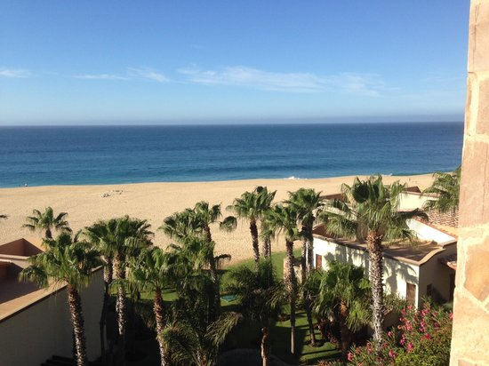Pueblo Bonito Sunset Beach Golf & Spa Resort : Morning view from porch
