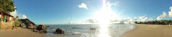 Segunda Praia Beach: Panorâmica da 2ª praia em Morro de SP