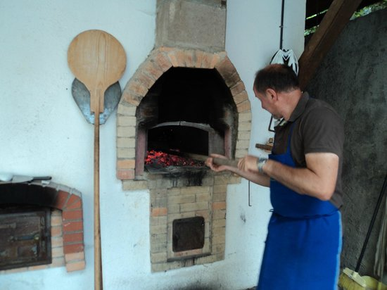 Weberhof - Urlaub am Bauernhof: Pizzabacken - gemeinsamer Gästeabend