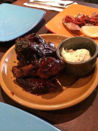 La Boca Latino Bar: Chicken wings
