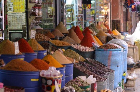 Mellah : Souk aux épices