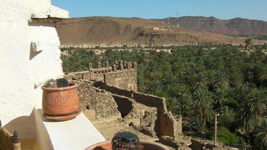 Dar Infiane: Vue de la terrasse , magnifique.