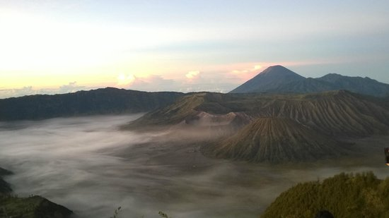 Lava View Lodge : View of Bromo National Park