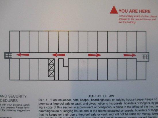 Sheraton Salt Lake City Hotel : Floorplan